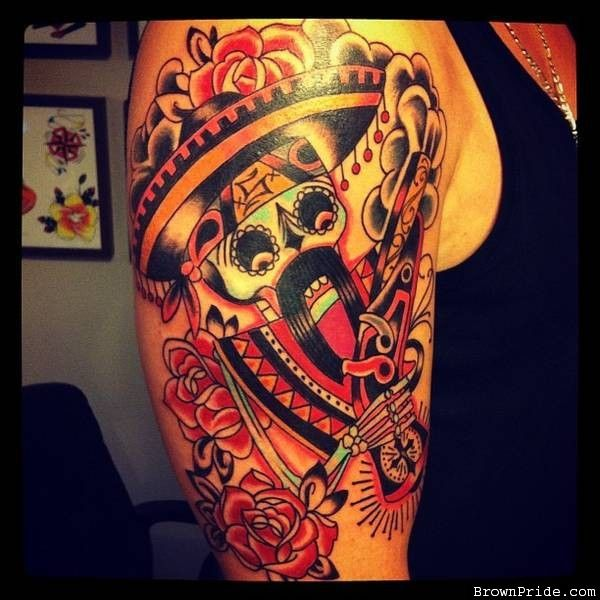 44 mexican style tattoos mexican tattoos are entrenched for Mexican style tattoos