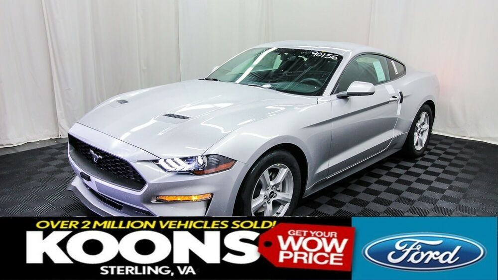 Ebay Advertisement 2019 Ford Mustang Ecoboost 2019 Ford Mustang Ecoboost 2506 Miles Ingot Silver Metallic Ford Mustang Ecoboost Mustang Ecoboost Ford Mustang
