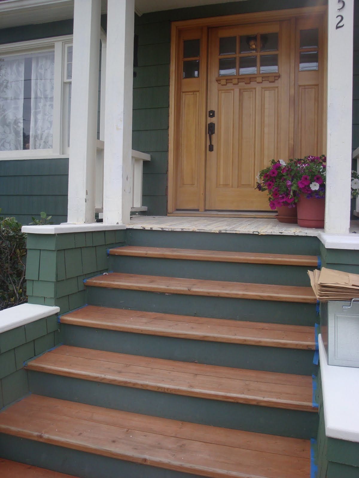 stairs   Painted stairs, House design, House front door