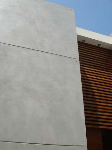 Microcemento para exterior fachada for Cemento pulido exterior