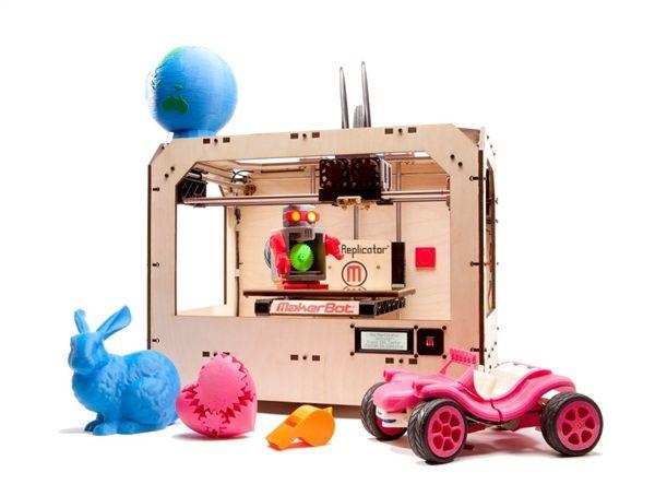 MakerBot Replicator Dual Extruder 3D Printer