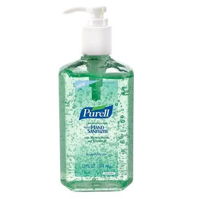 Purell Advanced With Aloe Instant Hand Sanitizer 12 Oz 4 Pack