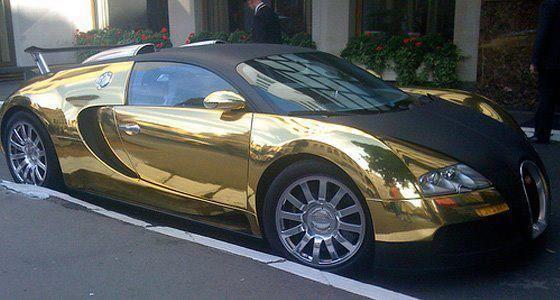 We saw this #Bugatti in #Scottsdale