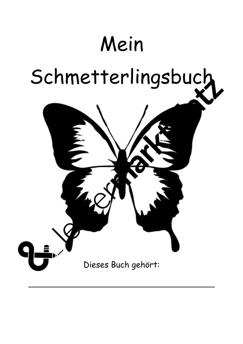 Schmetterlinge Dokumentation Tagebuch Beobachtungsbuch Fur Die Entwicklung Von Schmetterlingen Unterrichtsmaterial Im Fach Sachunterricht Schmetterling Raupe Schmetterling Bucher