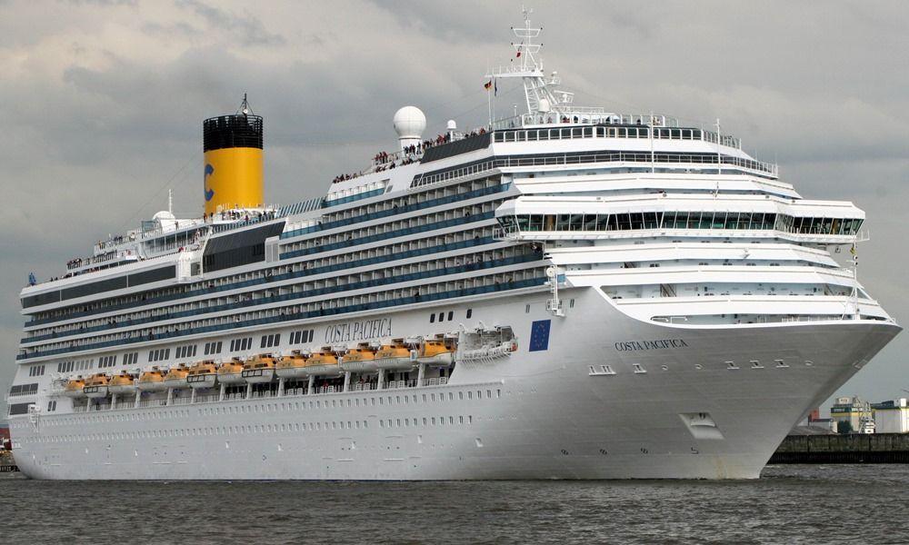 Costa Pacifica Cruise Ship Costa Serena Cruise Ship