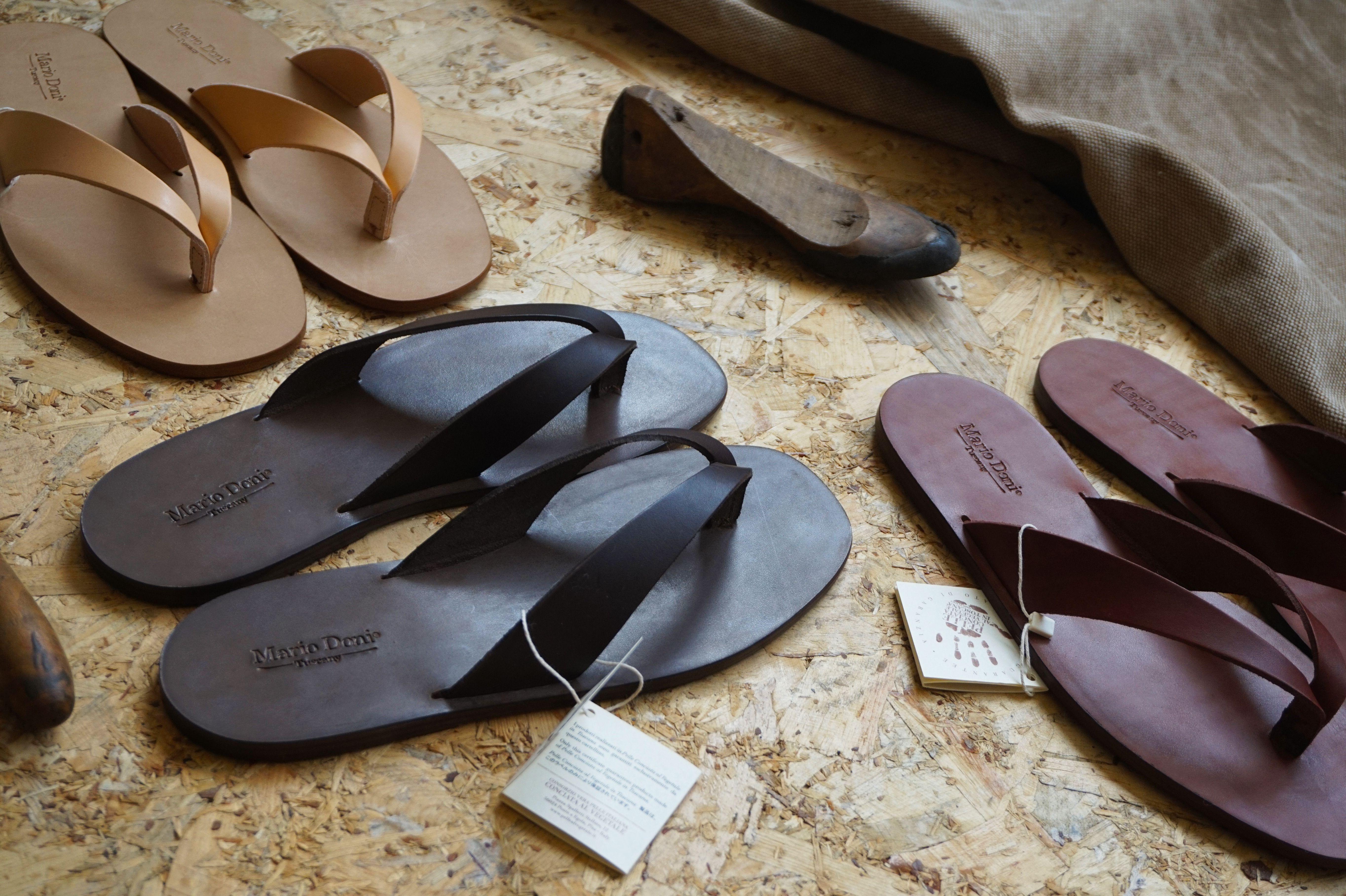 Sandalo artigianale #infradito da uomo realizzato in