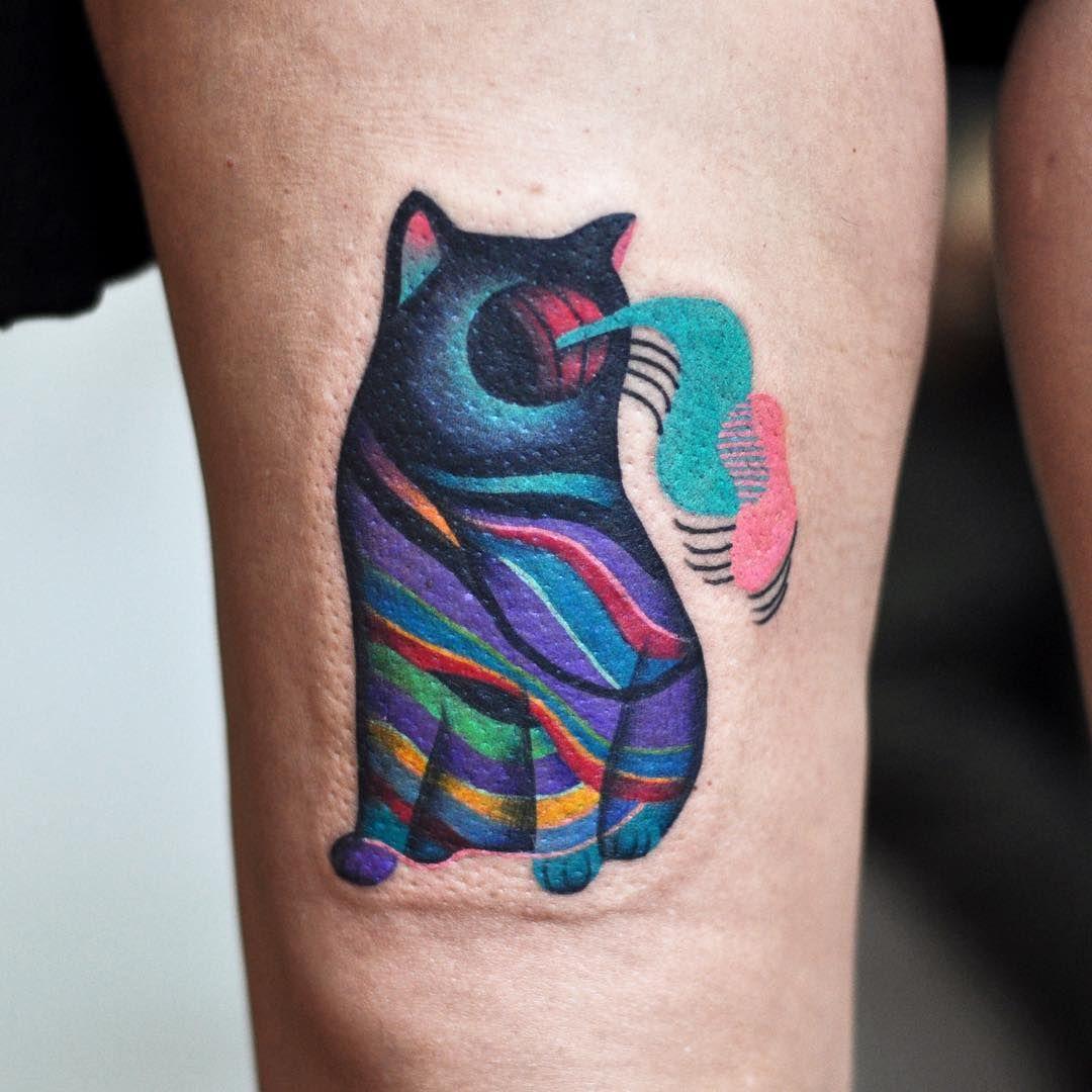 Small Acid Tattoo