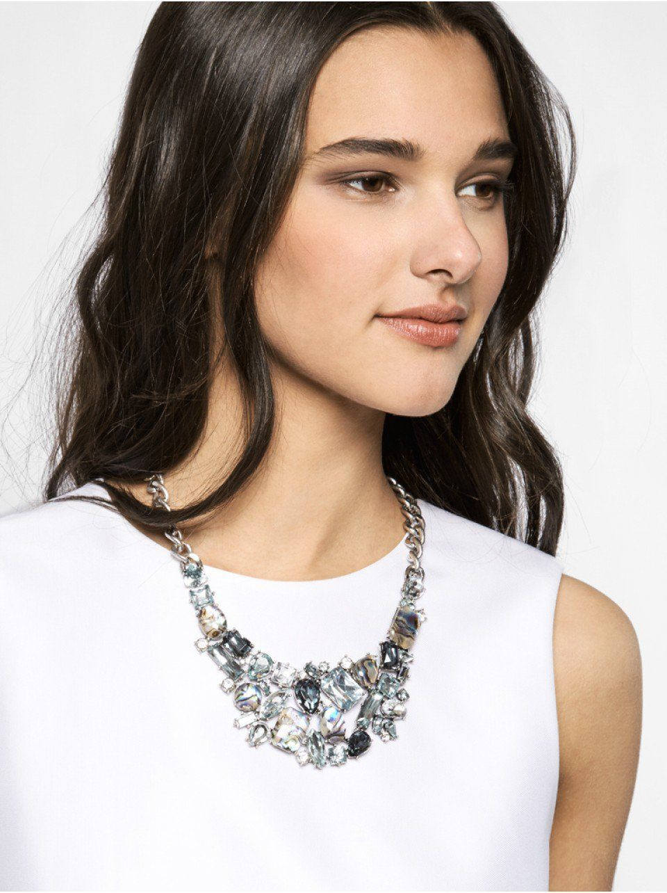 Crystal Abalone Bib