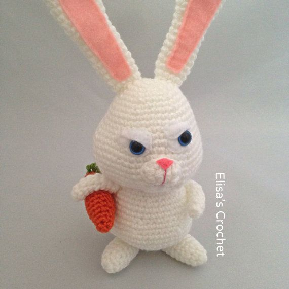 Crochet Pattern Snowball The Secret Life Of Pets Por Elisascrochet
