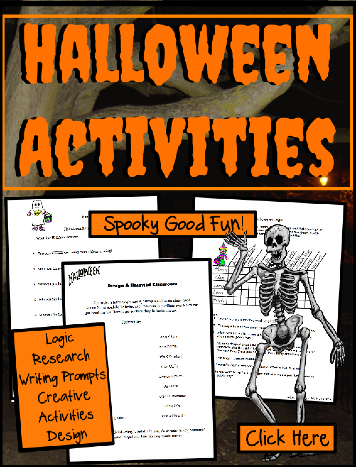 Halloween Logic Puzzles And Brainteasers