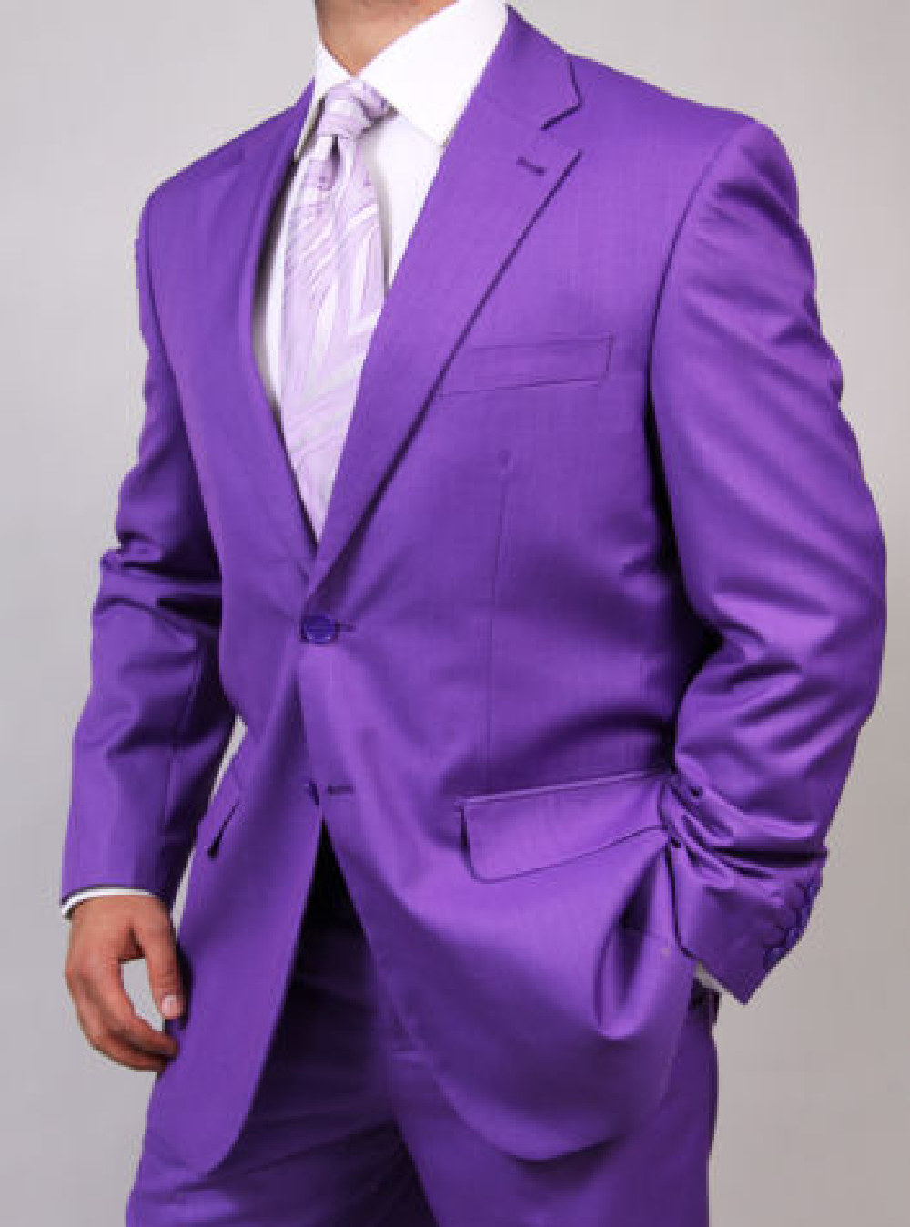 Mens Two Button Purple Suit: Men Suits | Mens Wear | Mens Wedding ...