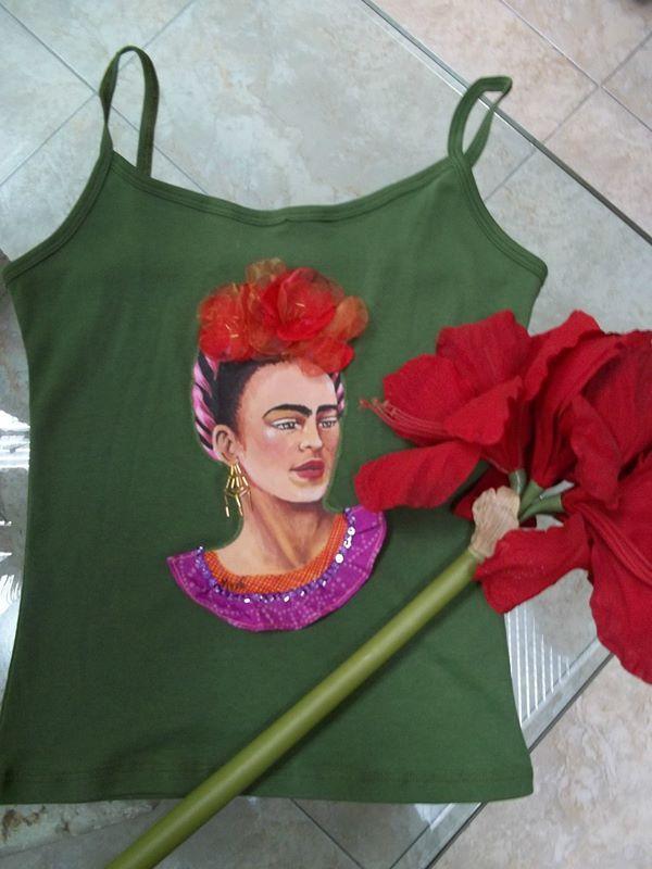 #pinthadas a mano #marciana Barros #frida