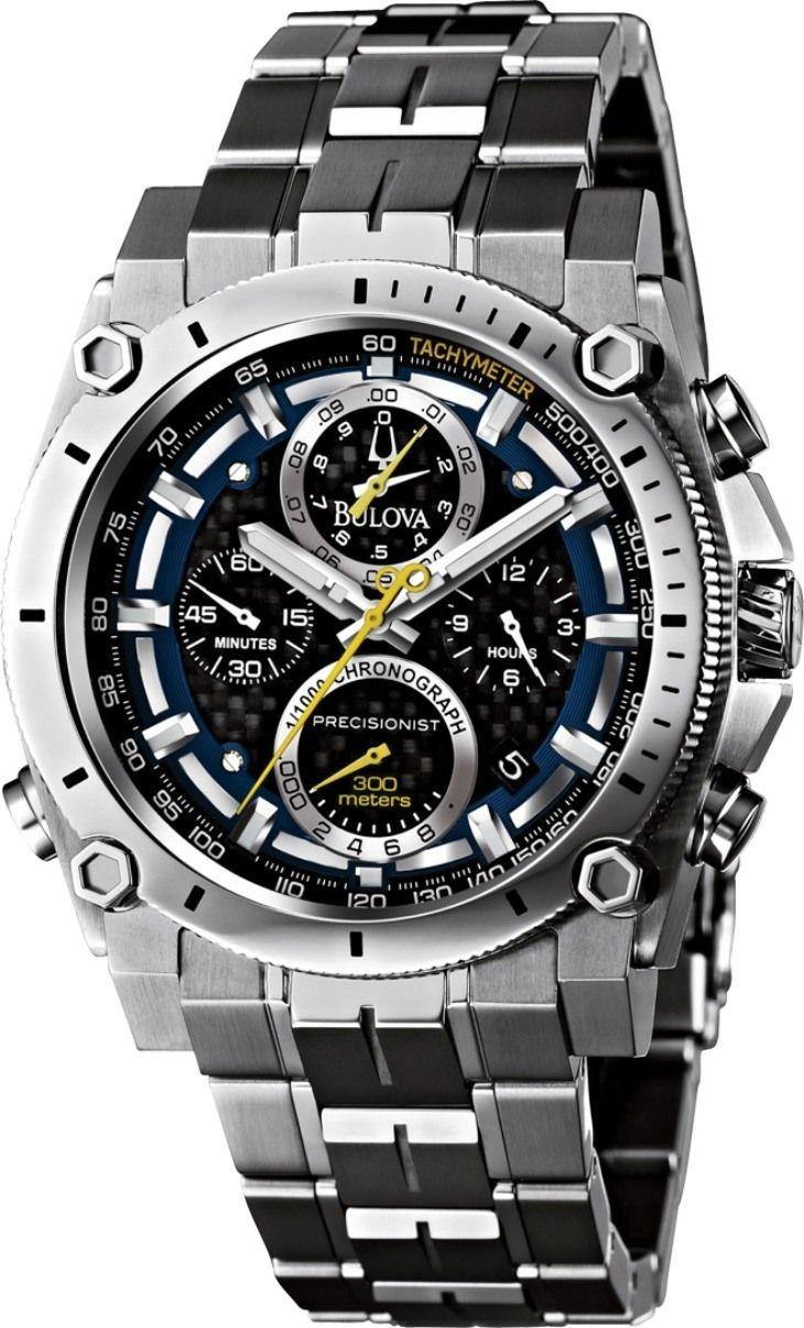 Bulova-Precisionist-Chronograph um super relógio > http://www ...