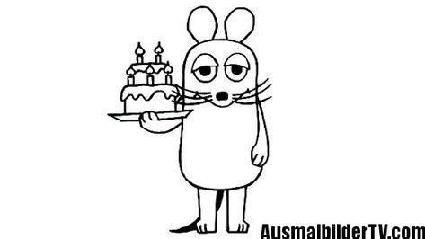 ausmalbilder maus | Geburtstag | Pinterest | Mäuse, Ausmalbilder und ...