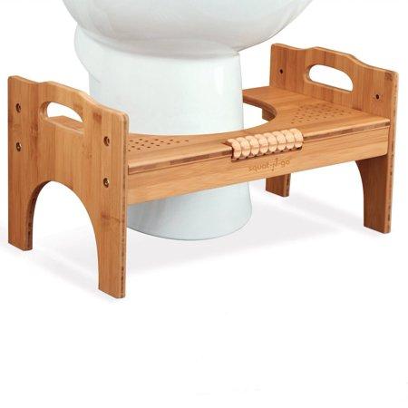 Squat N Go 7 Or 9 Adjustable Bamboo Luxury Squatting