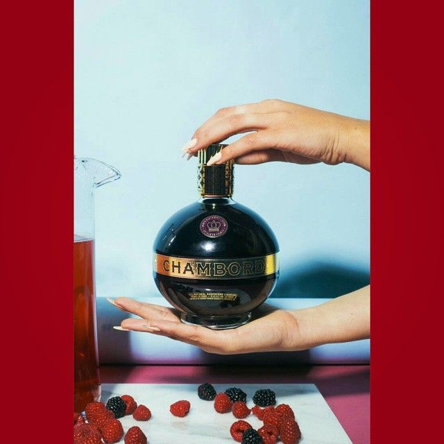 #Chambord #PartyPunch #Royale #CocktailRecipe  ©2015 Chambord #BlackRaspberryLiqueur  #DeliciousDrinks #Punch #Liquor