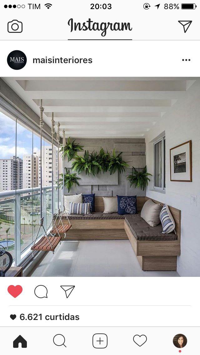 Pin von Roopak Jain auf Balcony | Pinterest | Garten terrasse ...