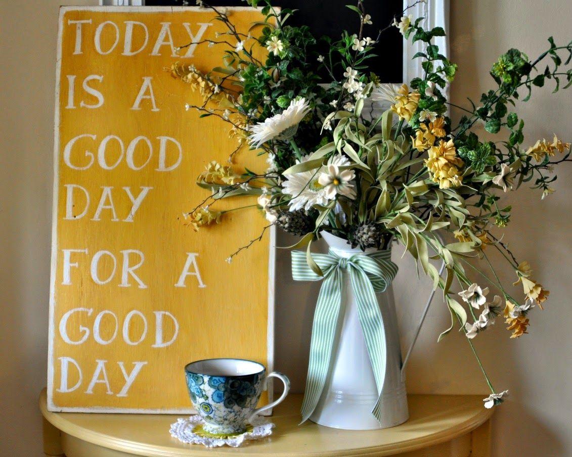 Lemon Lane Style: today is a good day | feel good | Pinterest
