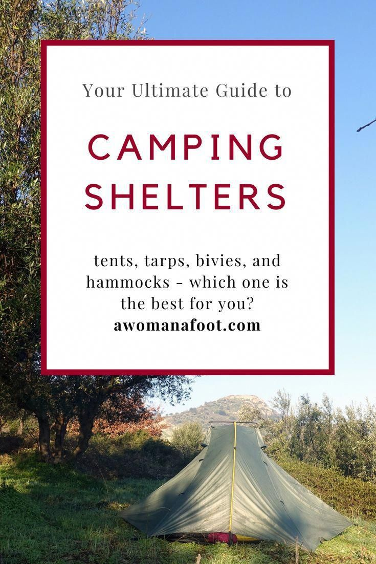 Which shelter is the one for you This ultimate guide to choosing camping shelters is here to help you find the best fitting your needs tent tarp hammock or a bivy at AWOM...