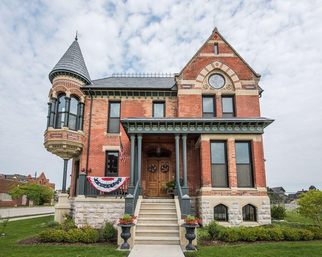 Ransom Gillis House Detroit Michigan Facade House House
