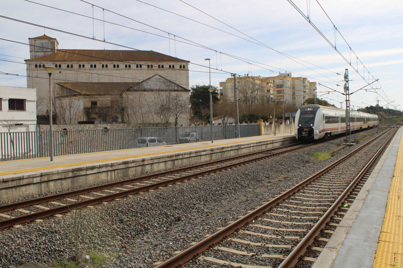 circulación de media distancia procedente de Cádiz