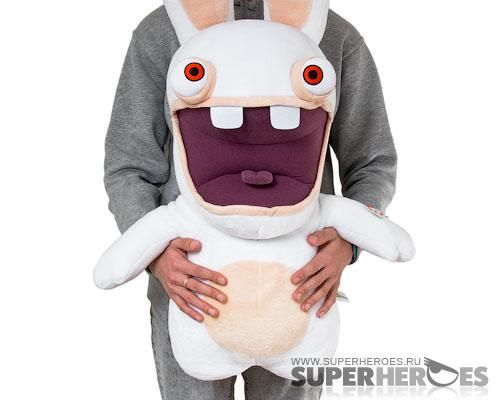raving rabbids rabbid lifesize plush - Raving Rabbids Halloween Costume