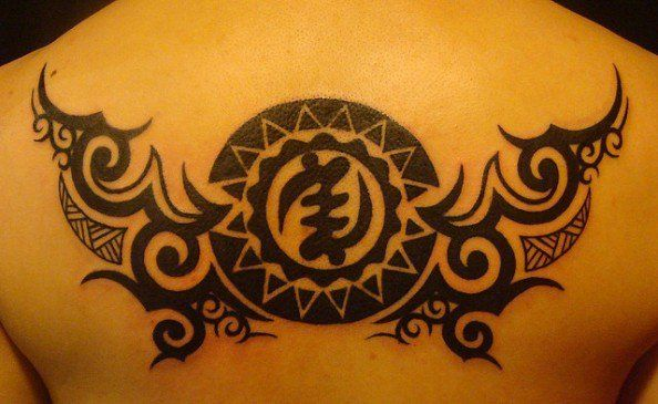African Warrior Tribal Tattoos Tribal Tattoos Adinkra Tattoo