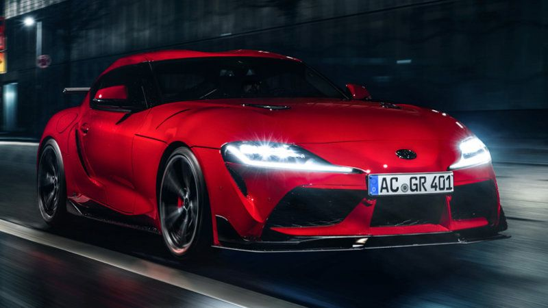 A German Bmw Tuner Has Upgrades For Your 2020 Toyota Supra Toyota Supra Toyota Bmw