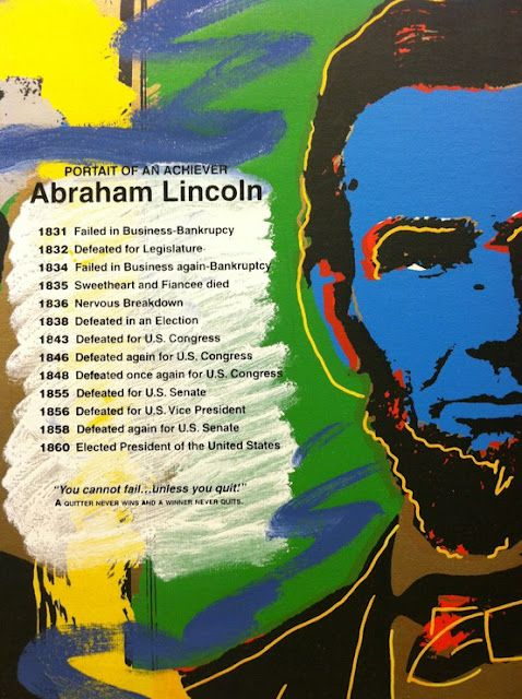 Green Owl Crafts Abraham Lincoln Abstract Art Abraham Lincoln Lincoln Inspirational People