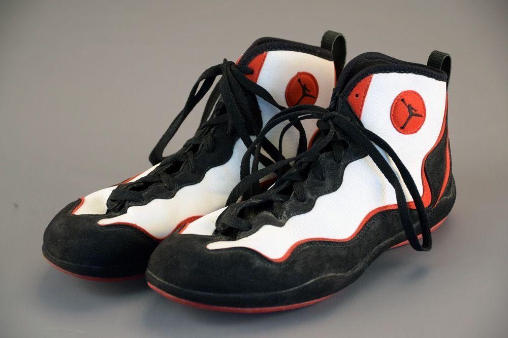 5f809fae5682 RARE Jordan Trainer Wrestling Shoes Nike 970810 Sz 12 US Great Shape L K