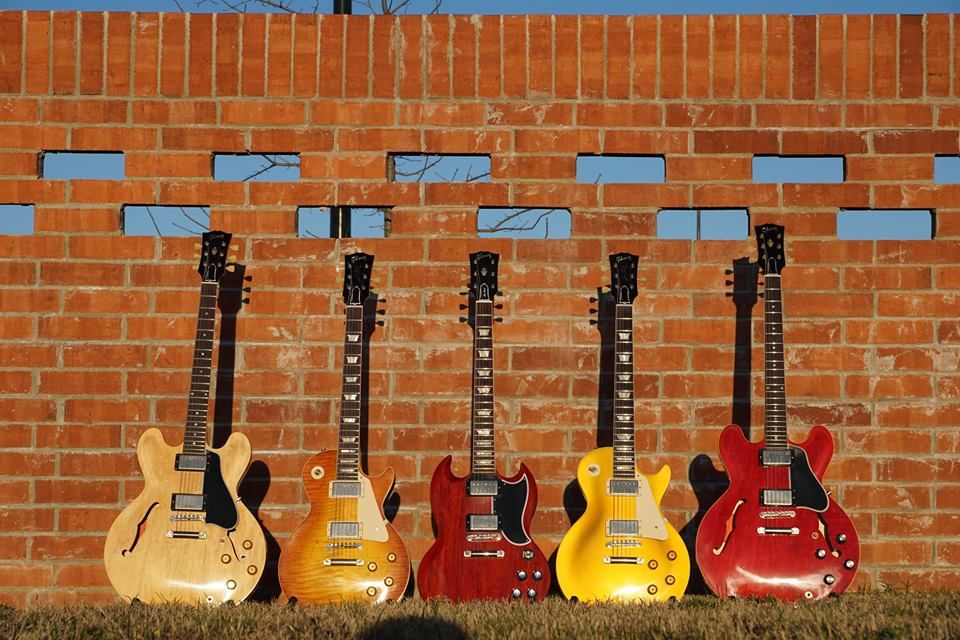 Five great Gibsons.