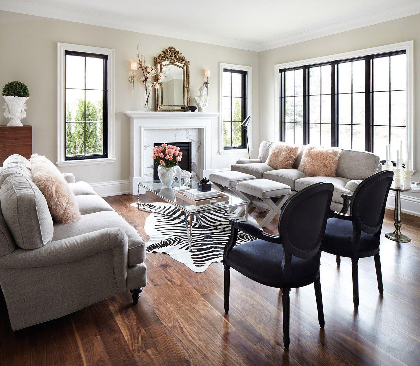 Zebra Print Cowhide Rug Off White Elegant Living Room Decor Living Room Grey Feminine Living Room #zebra #rugs #for #living #room