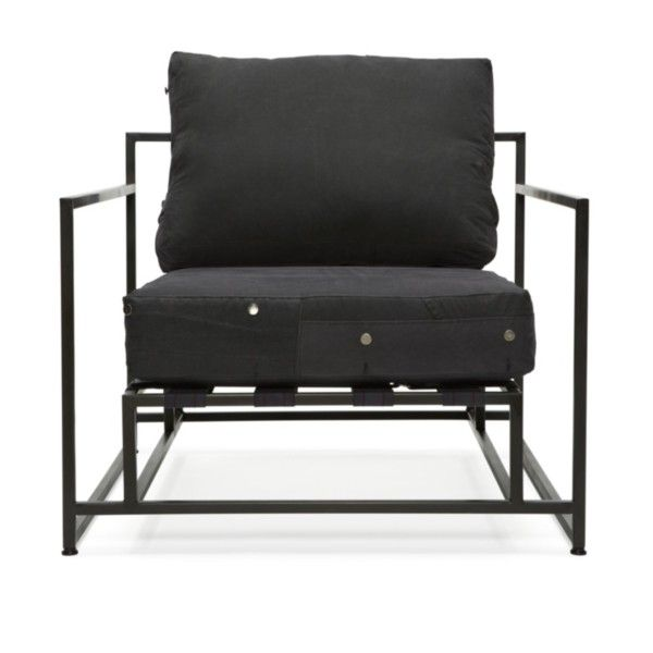 STEPHEN KENN Inheritance Armchair   Black (24 275 SEK) ❤ Liked On Polyvore  Featuring