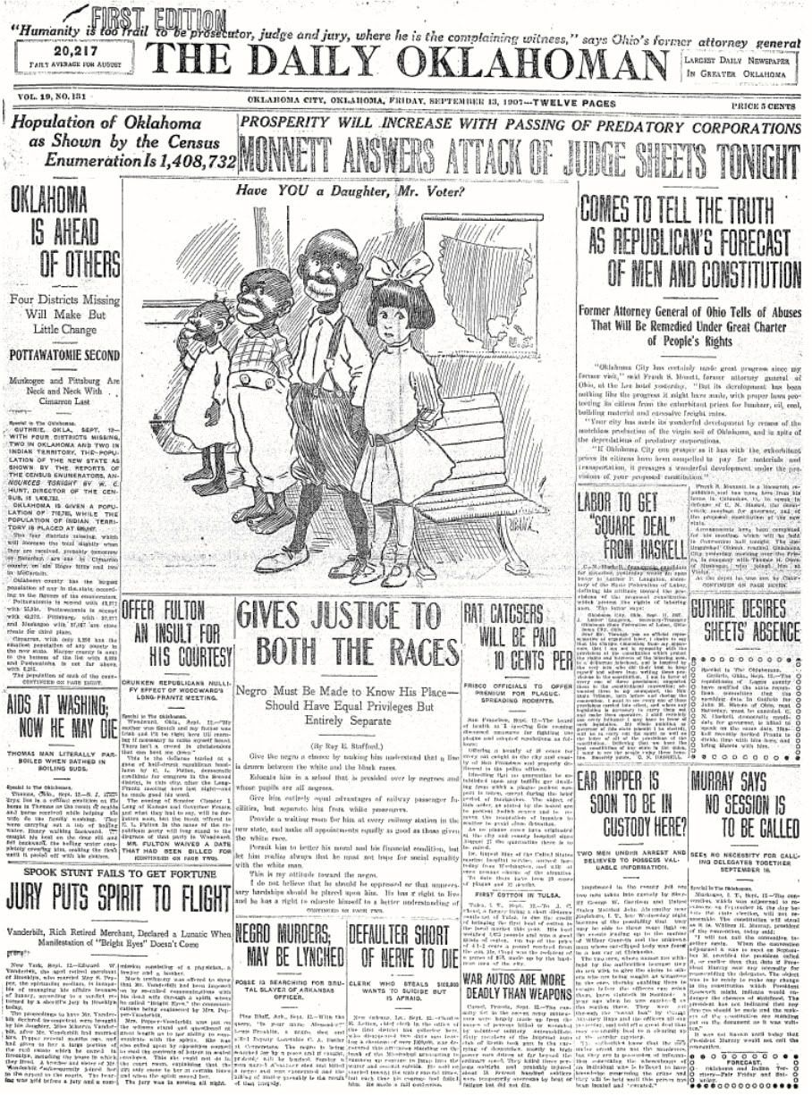 the daily oklah was one of the vintage oklahoma city jim crow laws in oklahoma city
