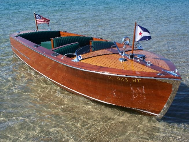 1947 hacker craft hackercraft 22 foot utility with On hacker craft for sale