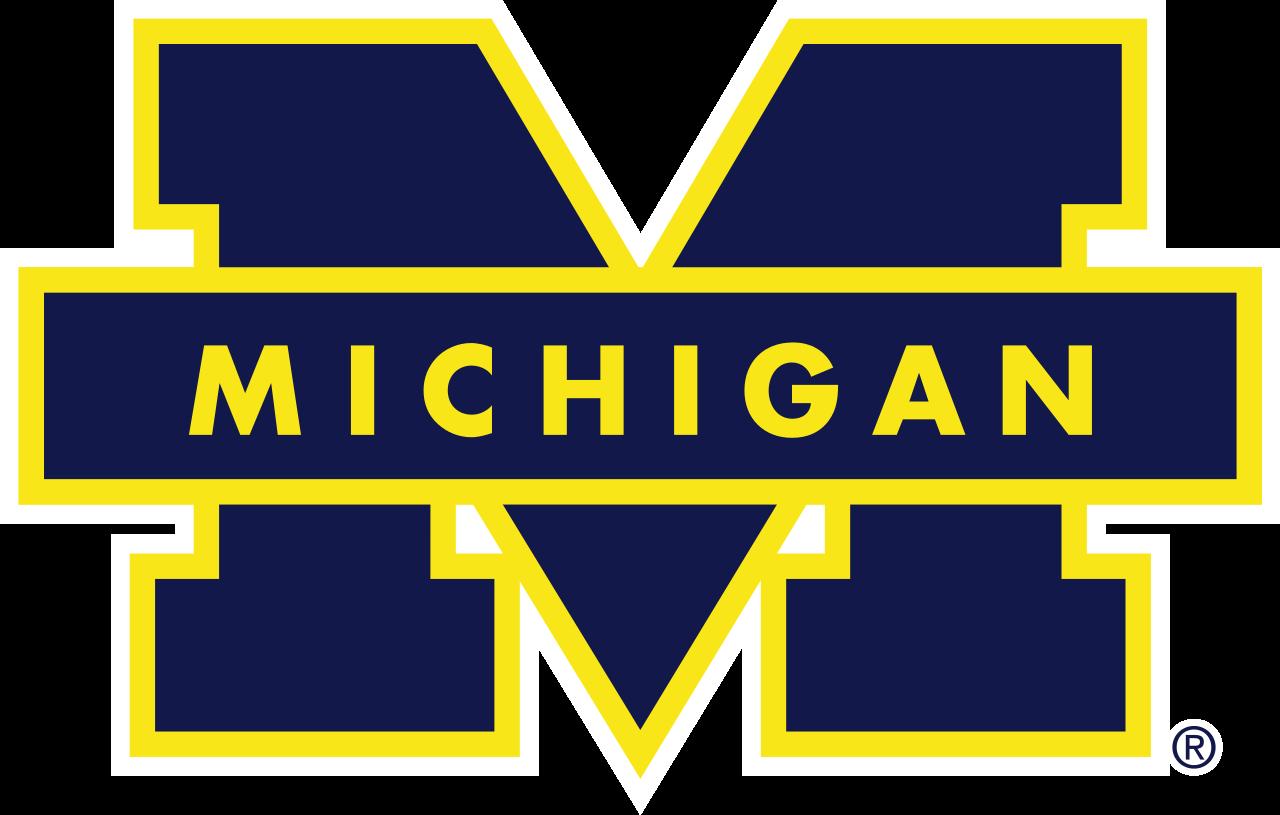 File Michigan Wolverines Logo Svg University Of Michigan Logo University Of Michigan Wolverines Michigan Football