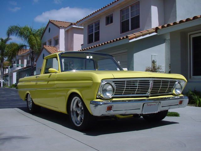 1965 ford ranchero custom pickup