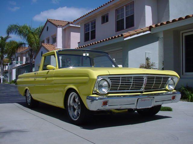 1965 ford ranchero custom pickup