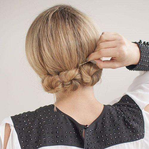 Jolly bun updo hairstyle | Updo for wedding | Pinterest | Updo ...