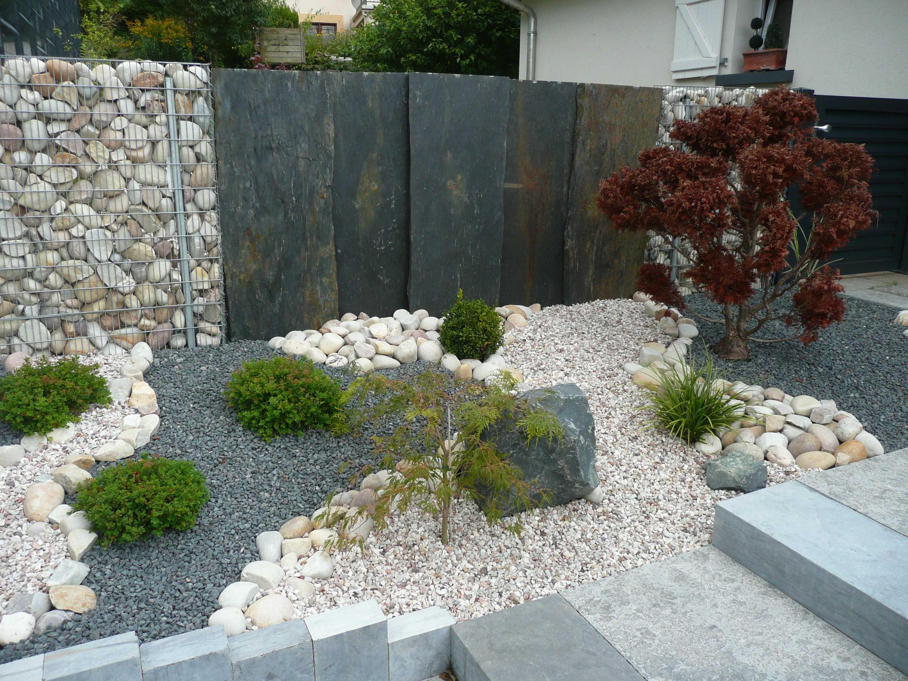 Les Meilleures Images Du Tableau Inspirations Et Amenager Parterre Devant Maison Images Jardin Mineral Amenagement Jardin Devant Maison Jardins
