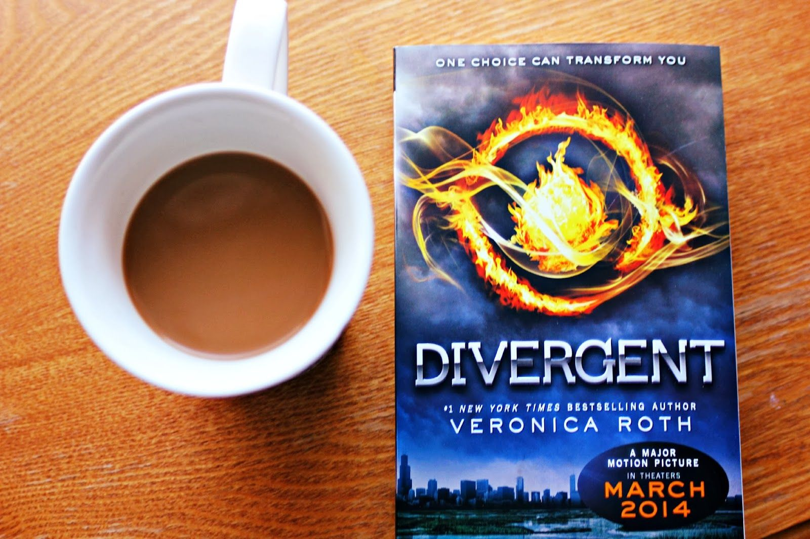coffee & a book - divergent