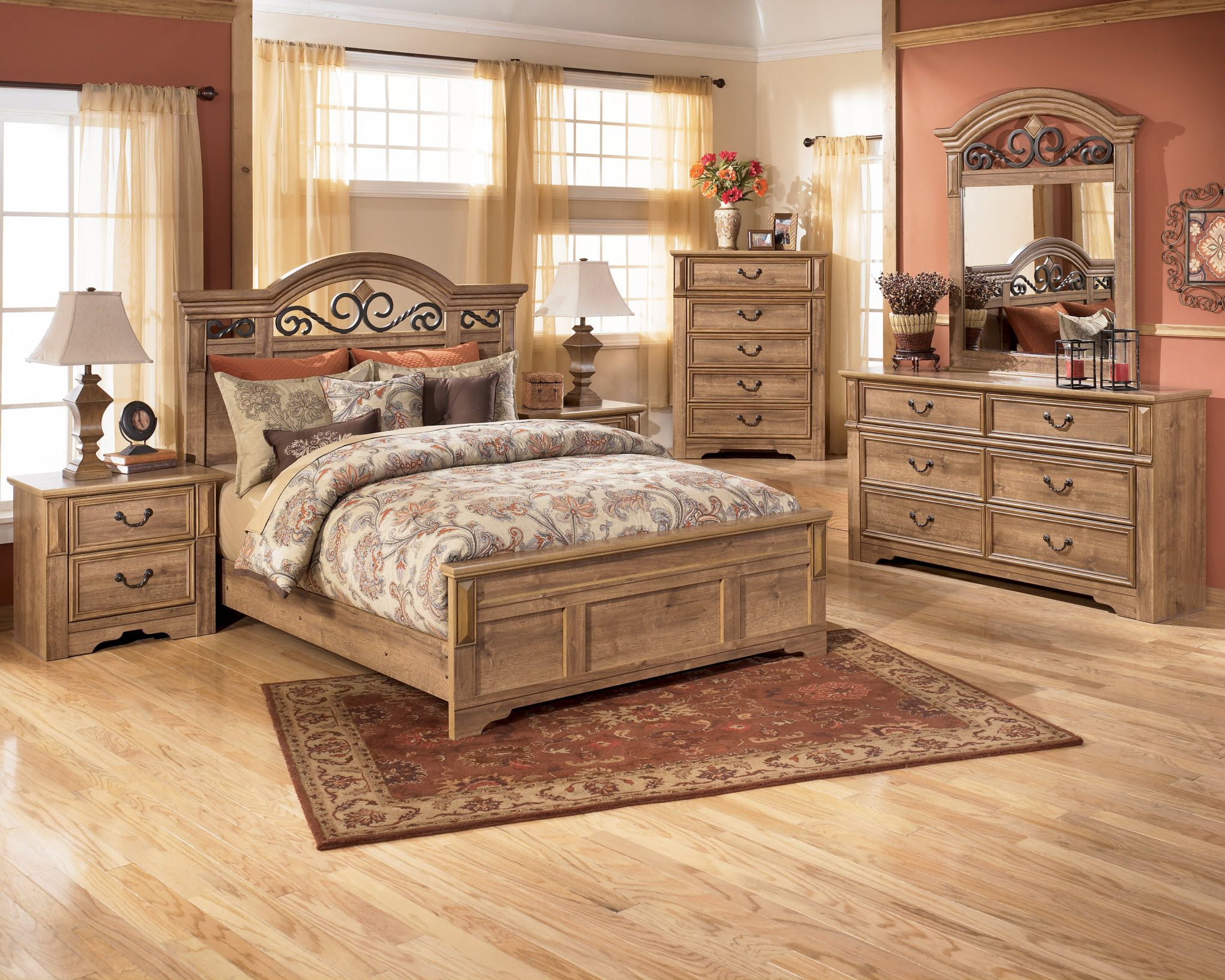 Ashley Bedroom Furniture Collections | AS_B170 B170 Whimbrel Forge ...