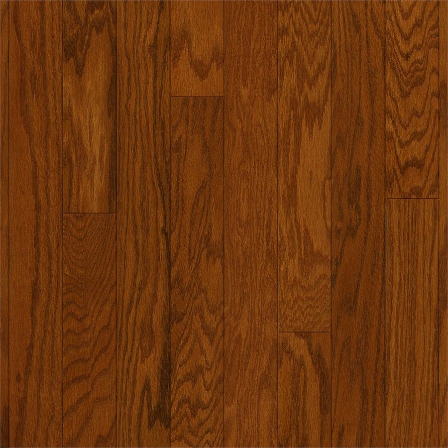 Style Selections 4-in Gunstock Oak Engineered Hardwood Flooring