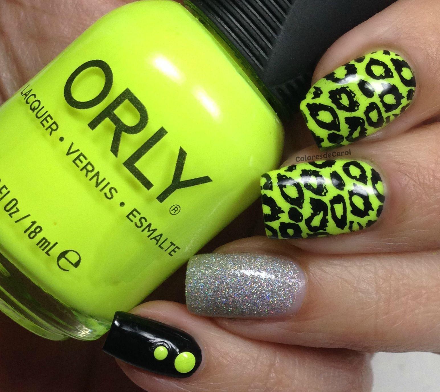 Orly - Glowstick | Uña decoradas