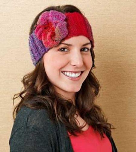 Knitting Patterns Galore Cozy Headband Free Headband Knitting