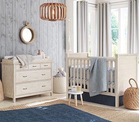 Rory Convertible Crib Pottery Barn Kids Baby Room Furniture Pottery Barn Nursery Pottery Barn Nursery Boy