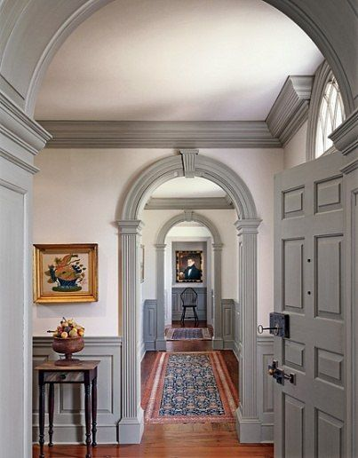 Patrick J Burke Creates An 18th Century Style Home In New Jersey