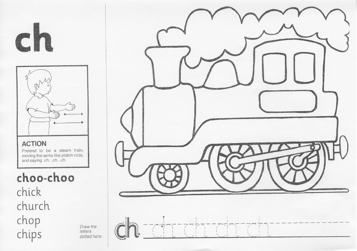 Ch Phonics Worksheets