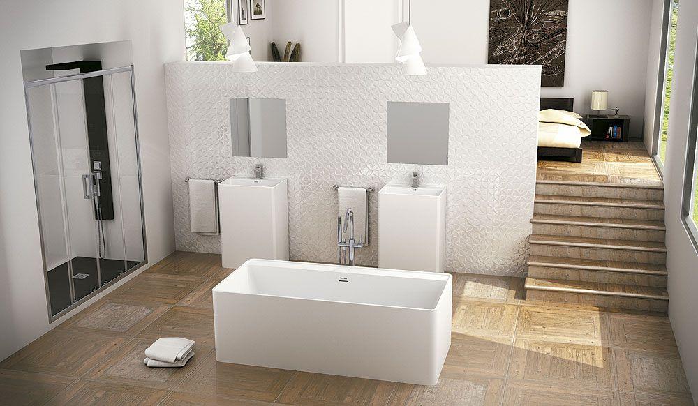 lavabo-bañera-cabanes-sanycces (1) Salle de bain Pinterest
