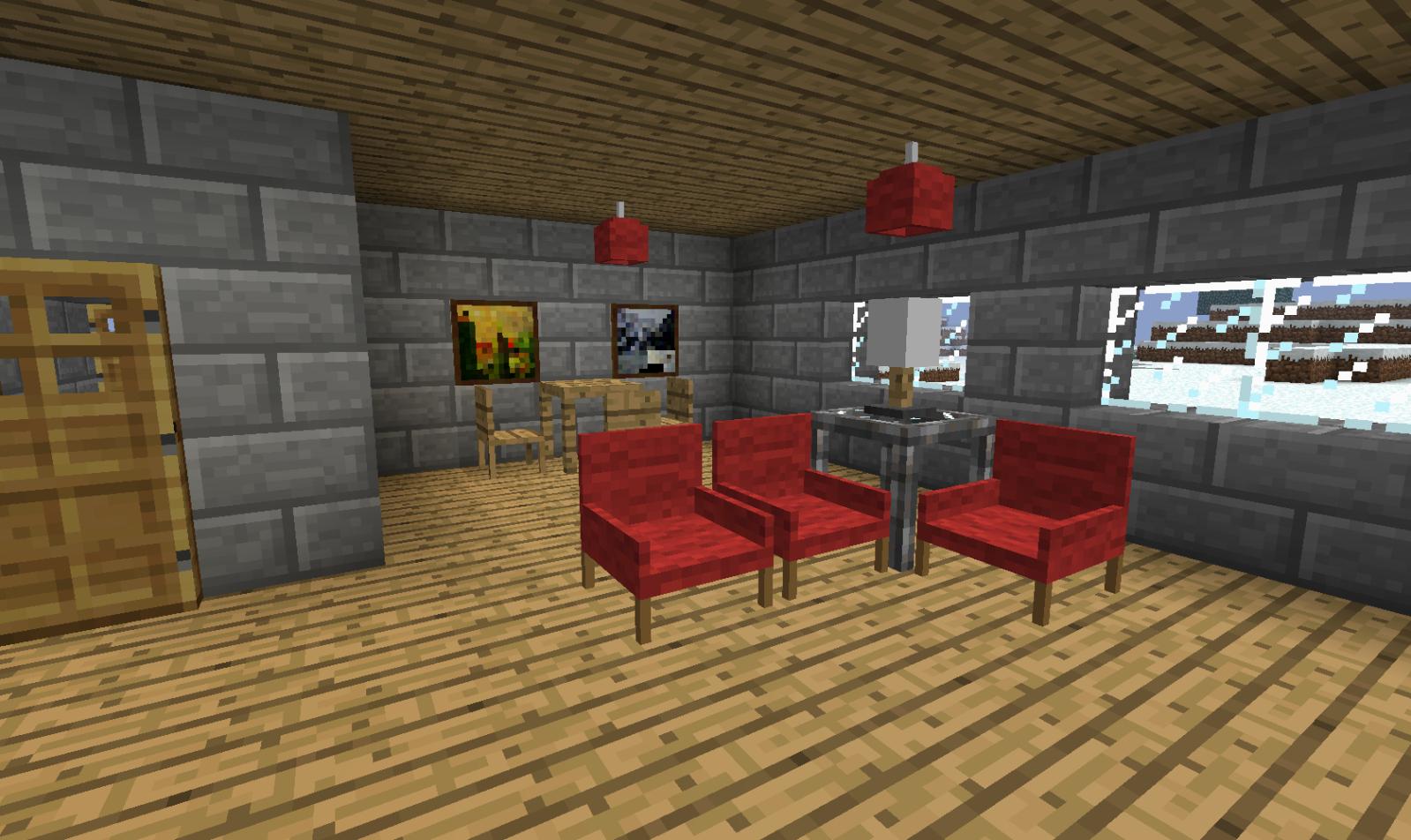 мод на мебель для майнкрафт 1.7.2 #9